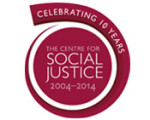 Centre for social Justice 10 year logo